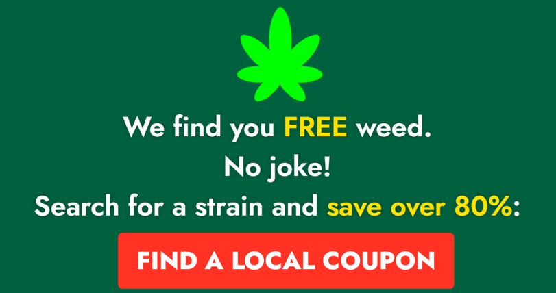 Get discounts on 1000+ cannabis strains.